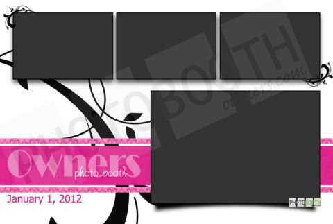 Friday Freebie Photo Booth Template Giveaway Week 5