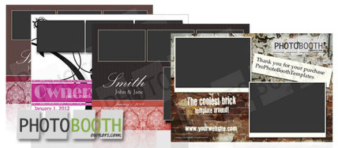New Photo Booth Template Design Shop