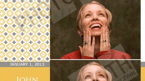 Friday Freebie Photo Booth Template Giveaway Week 6