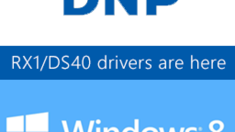 Official DNP Windows 8 Drivers for RX1, DS40/DS80 Available