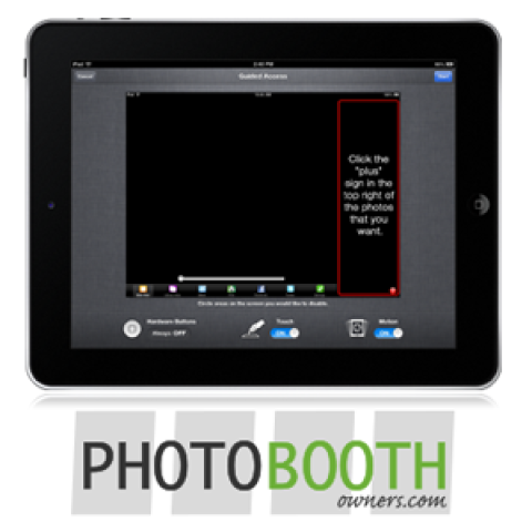 Lock The iPad In Your Photo Booth's Social Kiosk