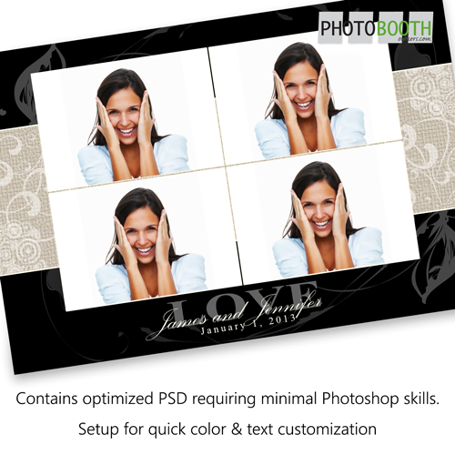 free photo booth template