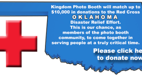Kingdom Photo Booth Company Offering Generous Red Cross Donation Match for Moore, Oklahoma