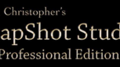 SnapShot Studio Releases Standard Edition, Supports Canon, Nikon & Webcams