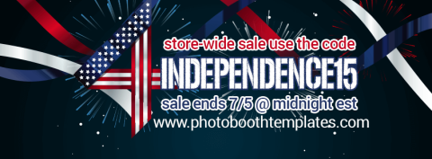 15% Off Storewide at photoboothtemplates.com