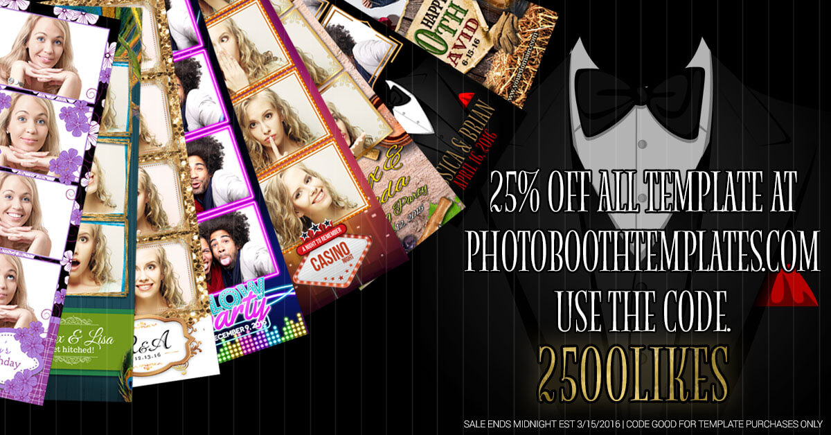 25% off templates