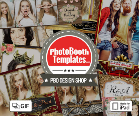 iPad Photo Booth Templates Are Here!